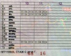 Категории водительских прав в 2018 году